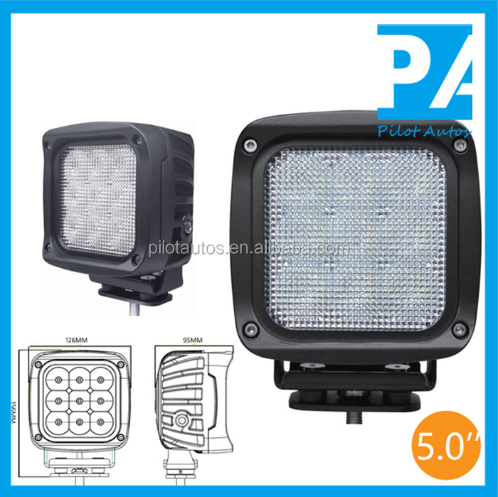 "45W 5.0"" inch Led Work Working Light For ATV SUV off road 4x4 heavy equipments Truck Jeep Motorcycle Boat 2745"