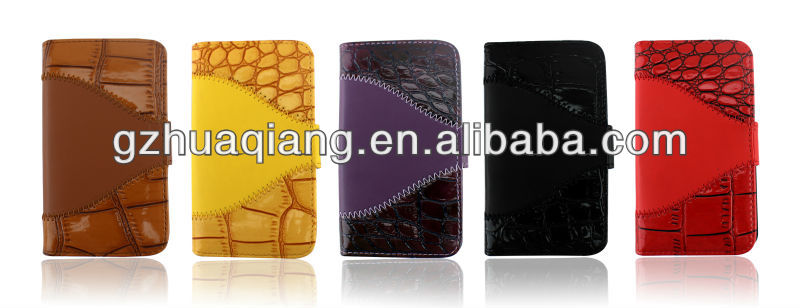 newest PU leather phone cases for iphone5/5s case,for iphone case,made in China