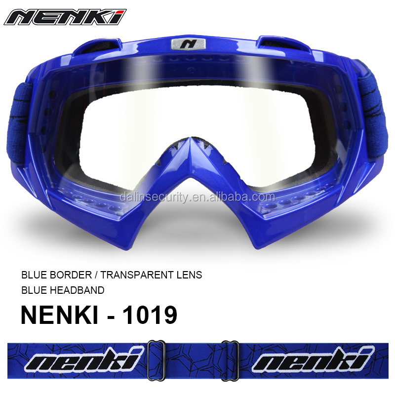 Single Color Frame Adult MX Moto Motocycle Motocross Goggles