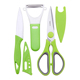 Wholesale Kitchen Accessories New Product Ideas 2019 Eco-Friendly Stainless Steel Fruit Vegetables Tool Plastic Peeler 3pcs Set