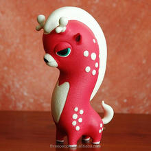 high quality deer shape pvc resin figurine,custom cartoon deer epoxy resin figurine,customized cartoon animal resin toy
