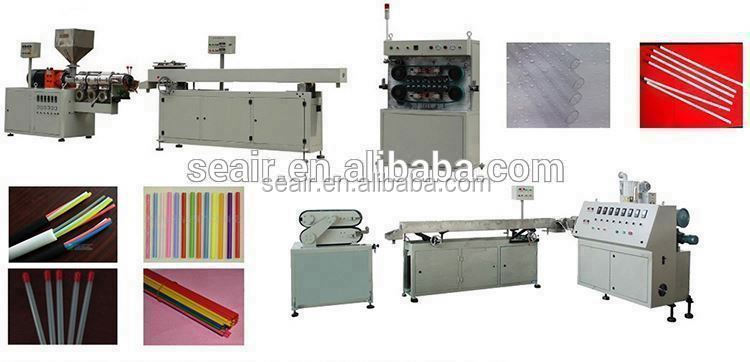 Pipe making machine,funny plastic cute drinking straw making machine pipe extruder