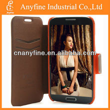 Factory price for SAMSUNG S4 I9500 credit card slot style wallet case