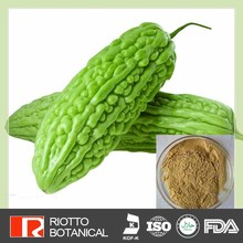 Lowering blood glucose and lipid bitter gourd glycosides