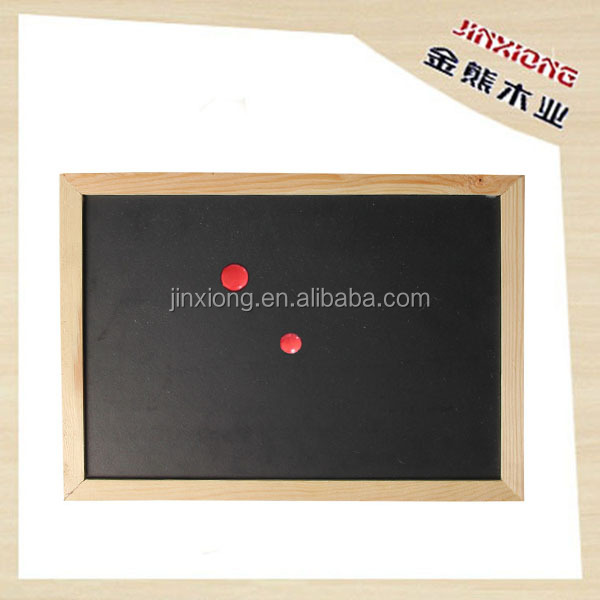 Hanging magnetic blackboard, magnetic chalkboard, black board with frame