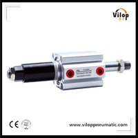 SDAJ Series Pneumatic Components Adjustable Stroke Pneumatic Cylinder /Compact Cylinder in China