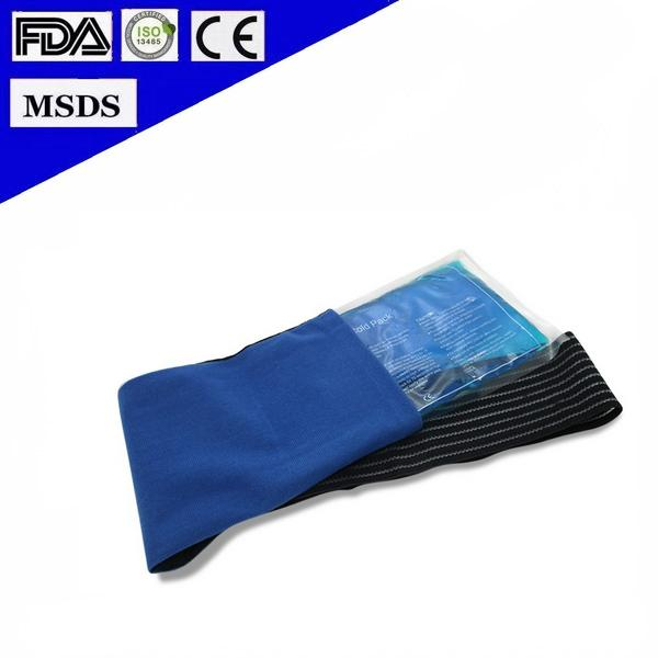High Quality Elastic Wrap Reusable Hot Cold Gel Ice Pack