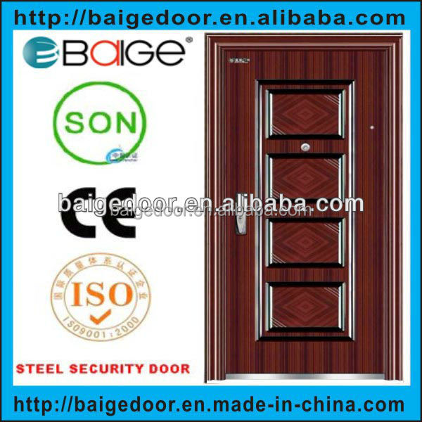 BG-S9022 Residential lowes steel entry doors