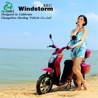 Windstorm,Beach style rear wheel brake pedal e scooter e motorcycle