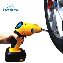 TONSIM Multifunction Portable Digital Tire Inflator New with Tire Pressure Monitoring System