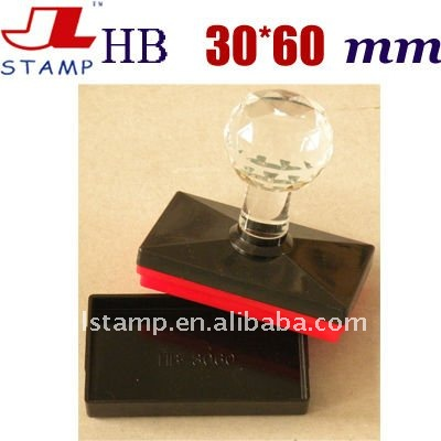 HB Crystal Handle Flash Office Stamp