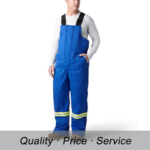 WU-K56 european quality reflective cotton overall construction workwear