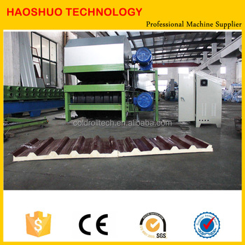 Continuous PU PIR Sandwich Panel Machine for Roof and Wall Panels
