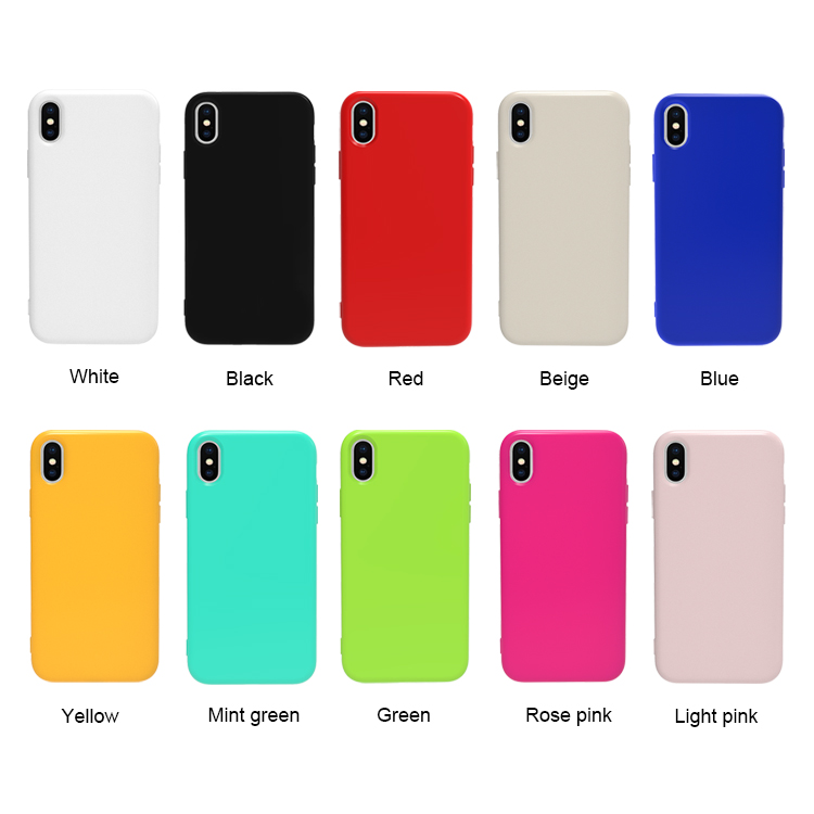 Jelly Candy Color TPU Mobile <strong>Case</strong> Thin and Slim Flexible Bumper Phone Cover For Huawei Y6 2019 Nova 5i