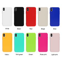 Jelly Candy Color TPU Mobile Case Thin and Slim Flexible Bumper Phone Cover For Huawei Y6 2019 Nova 5i