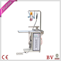 commercial laundry steam dry cleaning spot/stain removing table