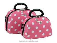 Professional EVA Cosmetic Makeup Case with lightes mirror