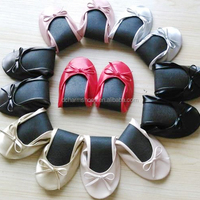 Ladies Favor Colorful Foldable Shoes With