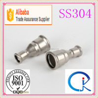 M Profile 304 Stainless Steel Reducer Coupling Pipe Press Fitting