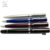 Twist action Metal free ink roller ball pen with silver clip