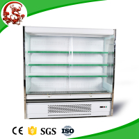 LONGSHENGXI 2015 hot sale luxury commercial upright supermarket display refrigerator