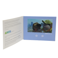 promotional printing video card