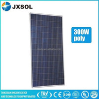 with full certification from chinese manufacturer high quality 300w poly solar panel
