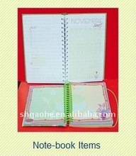 2012 New Items Spiral Notebooks