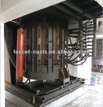 Big capacity 10T metal scrap melting furnace smelter