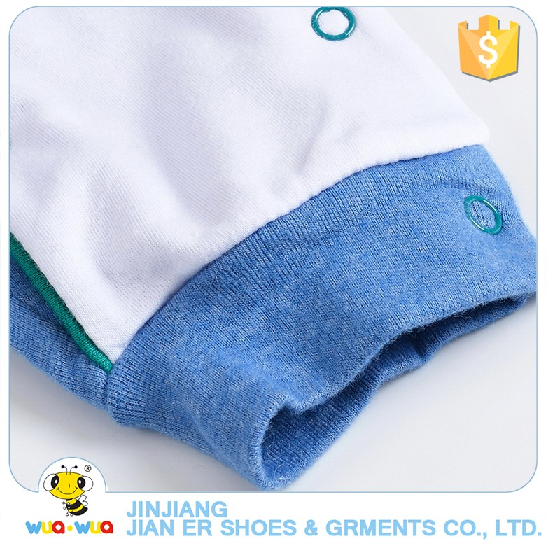 Wholesale babies clothes for baby long sleeve newborn 100% cotton sleepwear fashion baby romper