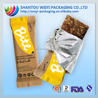 colorful Biodegradable non woven material resealable chinese food packaging