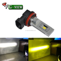 Newest design 60w csp auto fog led bulb 1200lm car led white golden yellow H8 h11 h16 led light car