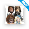 Design Of Mr. Dog Cushion Cover Custom Printed Throw Pillow Case