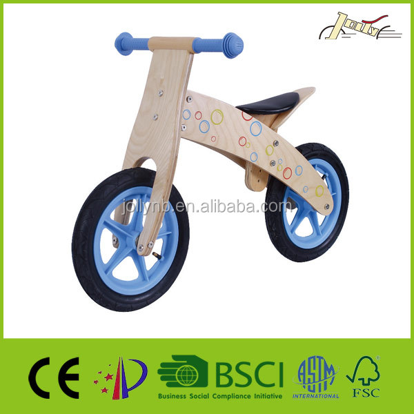 Classic 12'' Wooden Balance bike for children as kids toy
