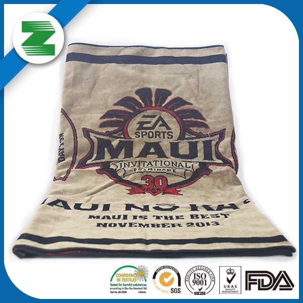 Customize Quick Dry printed Cotton soft beach towel