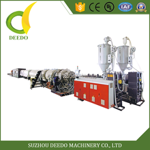 LDPE HDPE PP PPR PC plastic pipe extruder machine price