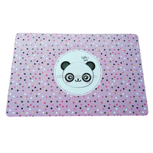 Durable Kids Placemats for Dinning Table Plastic PP Place Mats,non-slip table place mat for kids
