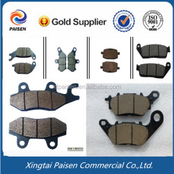 golden/black color disc bajaj motorcycle/scooter brake pad for sri lanka/pakistan