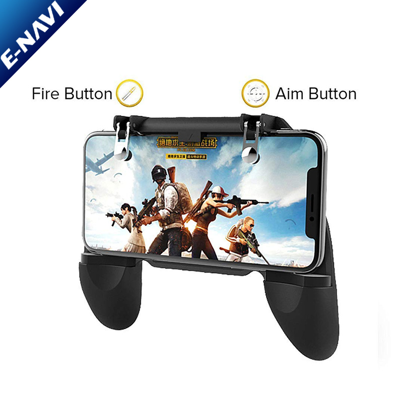 Wholesale W10 Universal Mobile Phone Game Controller Game Joystick Gamepad For Aim Trigger Shooter Button Smart Phone Games