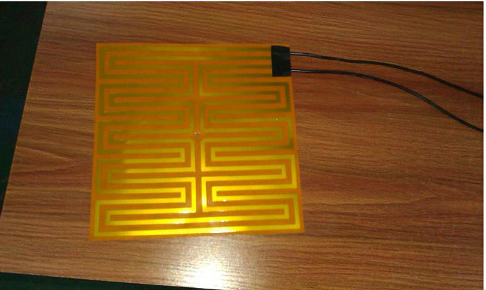 Flexible Polyimide Adhesive Thin Film Heater