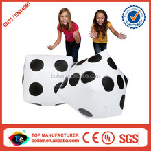 Fun play new cheap d20 giant inflatable dice