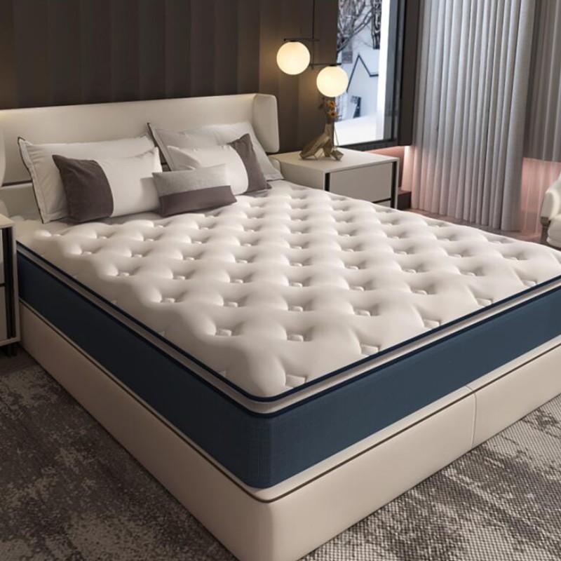 "hotel 10"" inch thick roll up queen gel memory foam bamboo mattress - Jozy Mattress | Jozy.net"