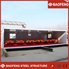 modular galvanized 40ft 3 axle container truck box trailer