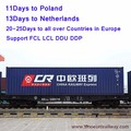 New Railway logistics solution shipping from China LCL FCL to Finland --skype:joelim37