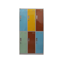 modern best iron almirah metal locker cloth coat colorful steel wardrobe designs