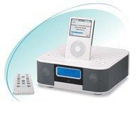 am fm radio alarm clock 2 1 speaker riffled top buy speaker product on. Black Bedroom Furniture Sets. Home Design Ideas