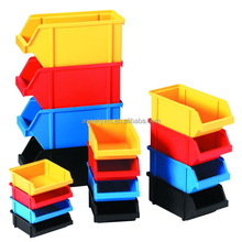 Red colorful toys Factory directly storage box plastic storage containers bin