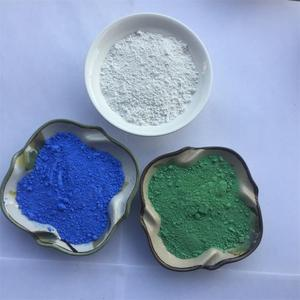 China Manufacturer Spray Waterproof Coating Silver Wall Paint Pigment Sea Blue Ceramic Pigment For Glaze Stain Powder