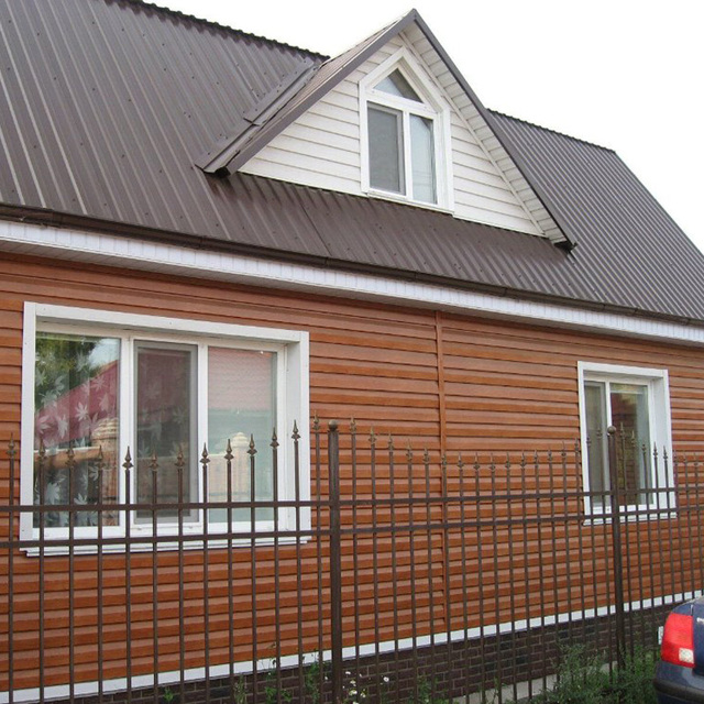Good quality wood grain color coated PPGI sandwich panel