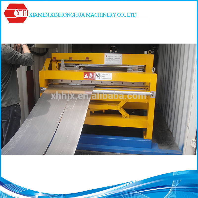 St1.0-1200 automatic cone plate shearing machine, steel cutting machine, steel plate cutting machine